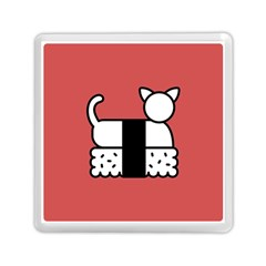 Sushi Cat Japanese Food Memory Card Reader (square)  by Mariart