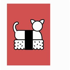 Sushi Cat Japanese Food Large Garden Flag (two Sides) by Mariart
