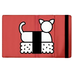 Sushi Cat Japanese Food Apple Ipad 2 Flip Case by Mariart