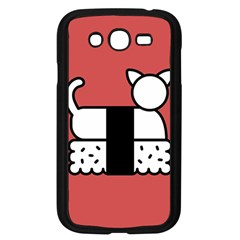 Sushi Cat Japanese Food Samsung Galaxy Grand Duos I9082 Case (black) by Mariart