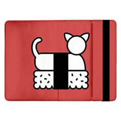 Sushi Cat Japanese Food Samsung Galaxy Tab Pro 12 2  Flip Case by Mariart