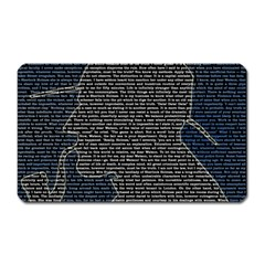 Sherlock Quotes Magnet (rectangular) by Mariart