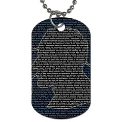 Sherlock Quotes Dog Tag (one Side) by Mariart