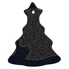 Sherlock Quotes Christmas Tree Ornament (two Sides) by Mariart