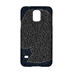 Sherlock Quotes Samsung Galaxy S5 Hardshell Case  by Mariart