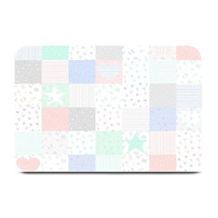 Sweet Dreams Rag Quilt Plate Mats by Mariart