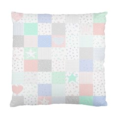 Sweet Dreams Rag Quilt Standard Cushion Case (one Side) by Mariart
