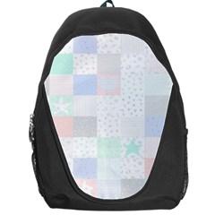 Sweet Dreams Rag Quilt Backpack Bag by Mariart