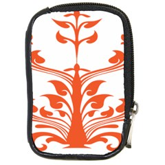 Tree Leaf Flower Orange Sexy Star Compact Camera Cases by Mariart