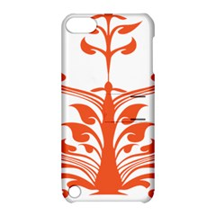 Tree Leaf Flower Orange Sexy Star Apple Ipod Touch 5 Hardshell Case With Stand by Mariart