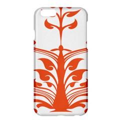 Tree Leaf Flower Orange Sexy Star Apple Iphone 6 Plus/6s Plus Hardshell Case by Mariart