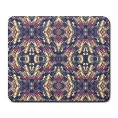 Multicolored Modern Geometric Pattern Large Mousepads by dflcprints