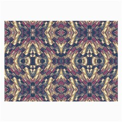 Multicolored Modern Geometric Pattern Large Glasses Cloth (2 Side) by dflcprints