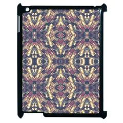 Multicolored Modern Geometric Pattern Apple Ipad 2 Case (black) by dflcprints