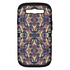 Multicolored Modern Geometric Pattern Samsung Galaxy S Iii Hardshell Case (pc+silicone) by dflcprints