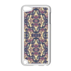 Multicolored Modern Geometric Pattern Apple Ipod Touch 5 Case (white) by dflcprints