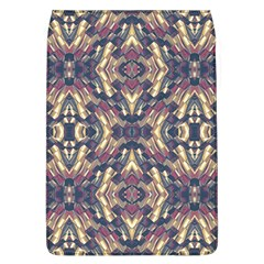 Multicolored Modern Geometric Pattern Flap Covers (l)  by dflcprints