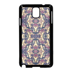 Multicolored Modern Geometric Pattern Samsung Galaxy Note 3 Neo Hardshell Case (black) by dflcprints