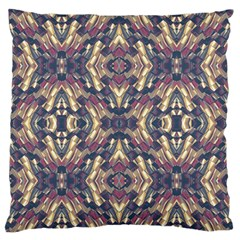 Multicolored Modern Geometric Pattern Standard Flano Cushion Case (one Side) by dflcprints