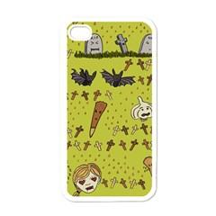 Horror Vampire Kawaii Apple Iphone 4 Case (white)