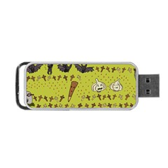 Horror Vampire Kawaii Portable Usb Flash (two Sides)