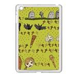 Horror Vampire Kawaii Apple iPad Mini Case (White) Front