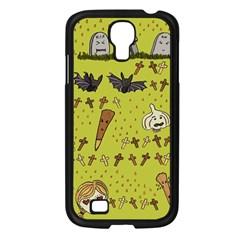 Horror Vampire Kawaii Samsung Galaxy S4 I9500/ I9505 Case (black) by Nexatart