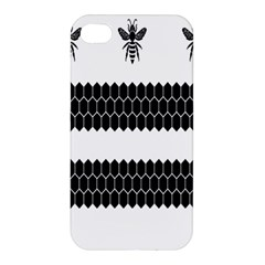Wasp Bee Hive Black Animals Apple Iphone 4/4s Hardshell Case by Mariart