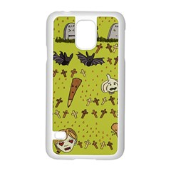 Horror Vampire Kawaii Samsung Galaxy S5 Case (white) by Nexatart