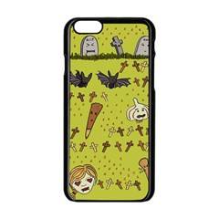 Horror Vampire Kawaii Apple Iphone 6/6s Black Enamel Case