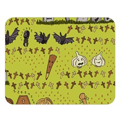 Horror Vampire Kawaii Double Sided Flano Blanket (large)  by Nexatart