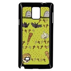 Horror Vampire Kawaii Samsung Galaxy Note 4 Case (black)