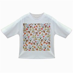 Cute Owl Infant/toddler T Shirts