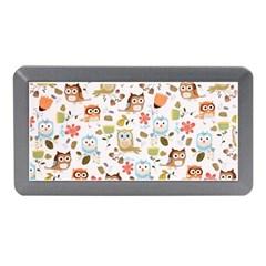 Cute Owl Memory Card Reader (mini) by Nexatart