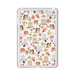 Cute Owl Ipad Mini 2 Enamel Coated Cases by Nexatart