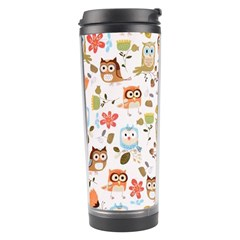 Cute Owl Travel Tumbler
