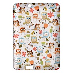 Cute Owl Kindle Fire Hdx Hardshell Case