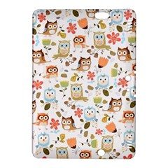 Cute Owl Kindle Fire Hdx 8 9  Hardshell Case