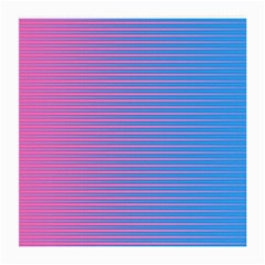 Turquoise Pink Stripe Light Blue Medium Glasses Cloth by Mariart