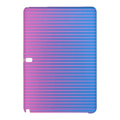 Turquoise Pink Stripe Light Blue Samsung Galaxy Tab Pro 10 1 Hardshell Case by Mariart