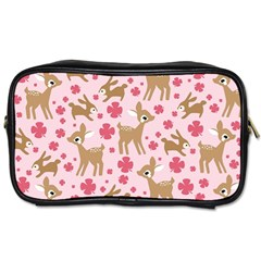Preety Deer Cute Toiletries Bags 2 Side by Nexatart