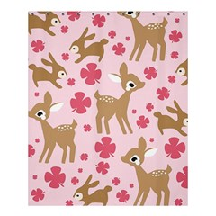 Preety Deer Cute Shower Curtain 60  X 72  (medium)