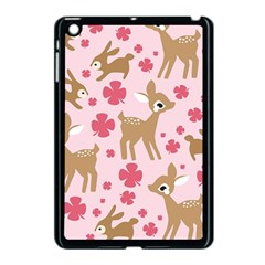 Preety Deer Cute Apple Ipad Mini Case (black) by Nexatart
