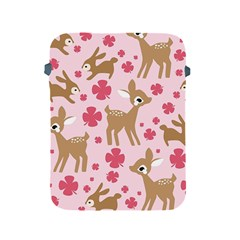 Preety Deer Cute Apple Ipad 2/3/4 Protective Soft Cases by Nexatart