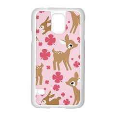 Preety Deer Cute Samsung Galaxy S5 Case (white)