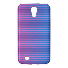 Turquoise Pink Stripe Light Blue Samsung Galaxy Mega 6 3  I9200 Hardshell Case by Mariart