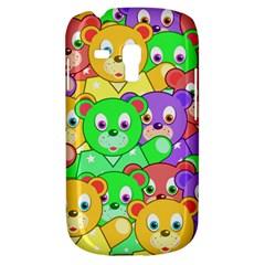 Cute Cartoon Crowd Of Colourful Kids Bears Galaxy S3 Mini by Nexatart