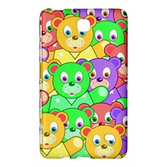 Cute Cartoon Crowd Of Colourful Kids Bears Samsung Galaxy Tab 4 (7 ) Hardshell Case  by Nexatart