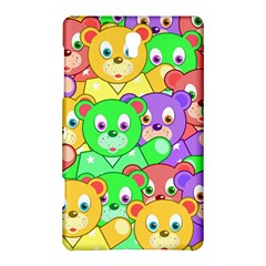 Cute Cartoon Crowd Of Colourful Kids Bears Samsung Galaxy Tab S (8 4 ) Hardshell Case