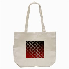 Netflix Play Button Pattern Tote Bag (cream)